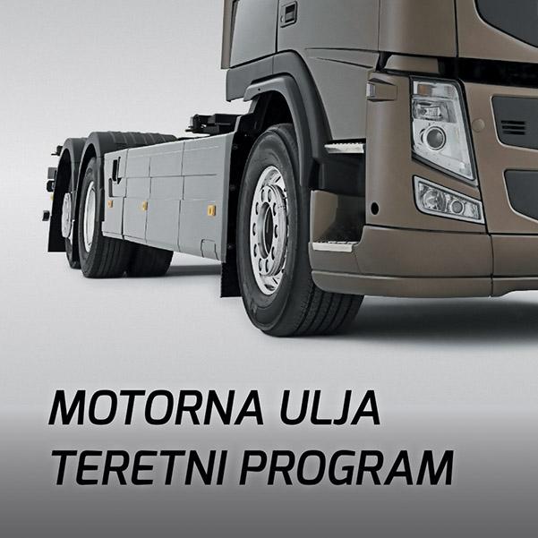 Motorna ulja teretni program