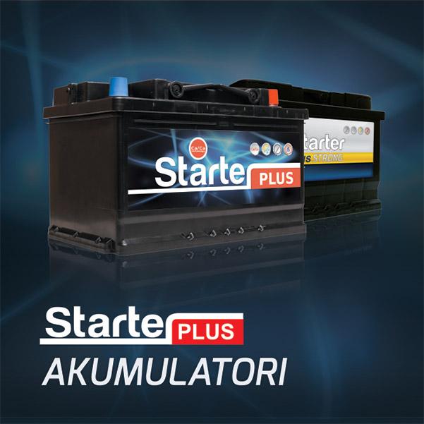 Starter akumulatori
